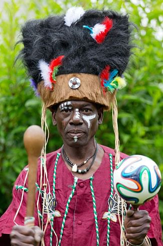 Ghanaian witch doctor claims responsibility for Ronaldo's  World Cup threatening injury!
