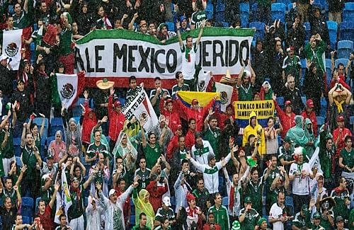 Fans in Mexico