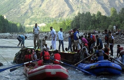 Five bodies found in Himachal river, 19 still missing