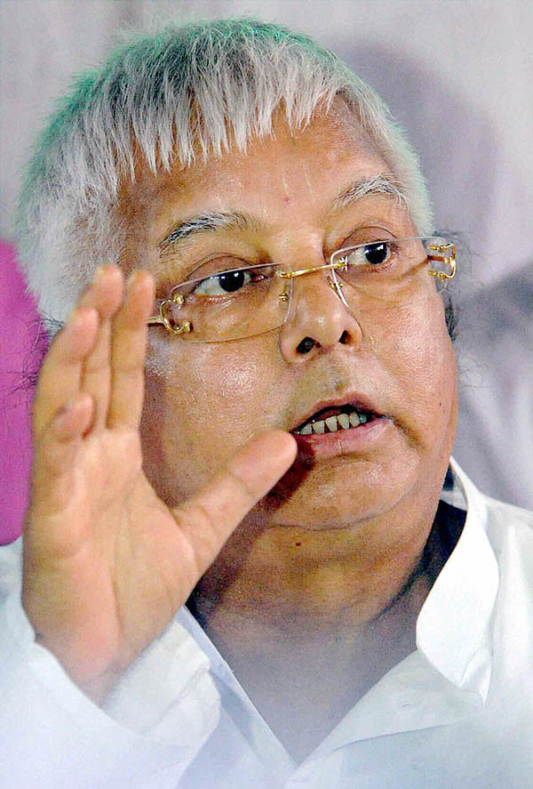 Lalu extends support to JD(U) in RS polls