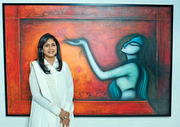 Radhika to display her works in US