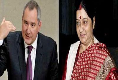 Sushma Swaraj, Dmitry O Rogozin