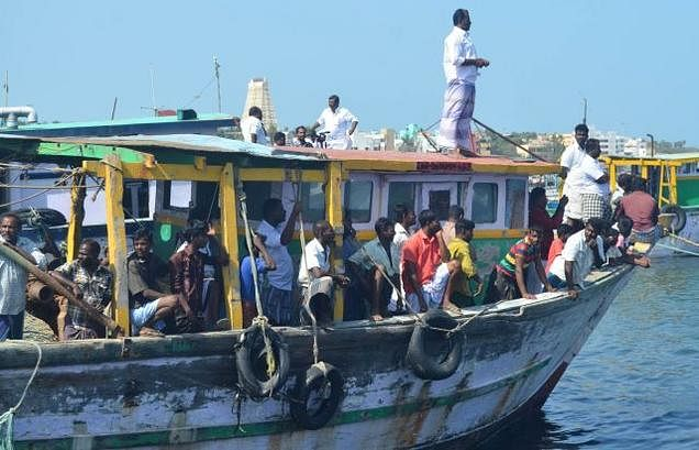 33 Indian fishermen released by Sri Lanka