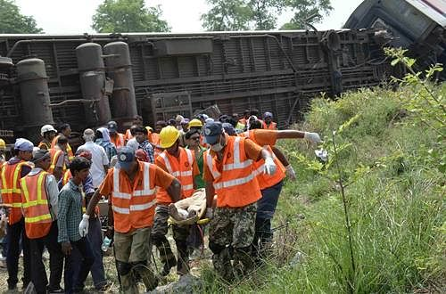 Derail: Trains diverted due to accident