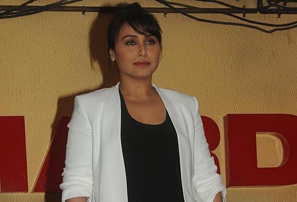 We actors are like beggars: Rani Mukerji