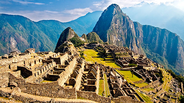 Machu Picchu intentionally built on faults