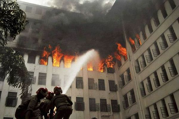 Minor blaze, no lessons learnt