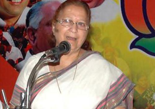 Sumitra Mahajan will be the next Lok Sabha Speaker