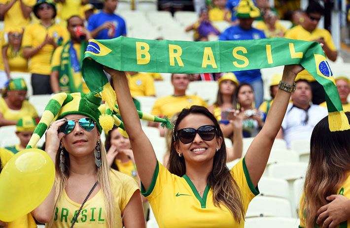 Bare facts: Brazil bad on field, good off