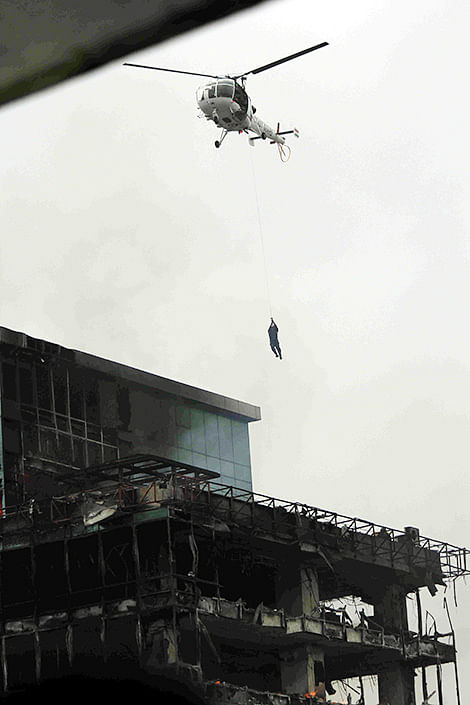 'CHOPPER RESCUE WAS ONE-OFF MISSION'