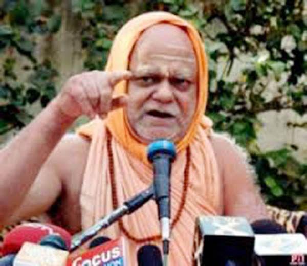 Shankaracharya row Javadekar and JBPatnaik disapprove state govt's role