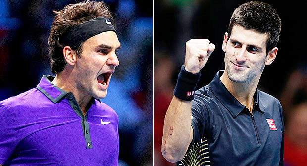 Roger Federer and Novak Djokovic top the bill for London finale