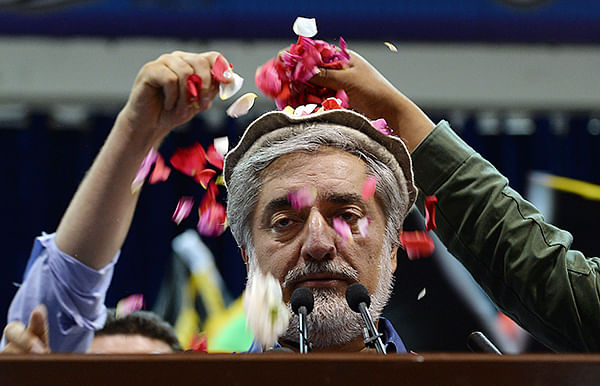 Abdullah claims victory in Af election