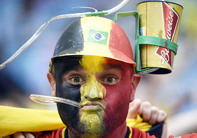 Despite worries, beer flows at World Cup arenas