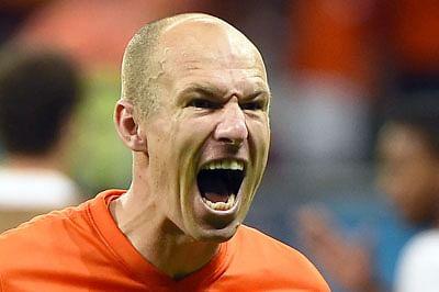 'Dutch Messi' Robben ready for Argentina