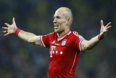 Bayern Munich fights for Robben to keep winger away from Manchester United