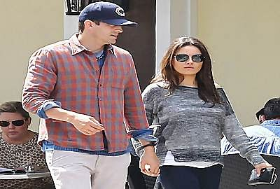 Mila Kunis, Ashton Kutcher enjoy retail therapy