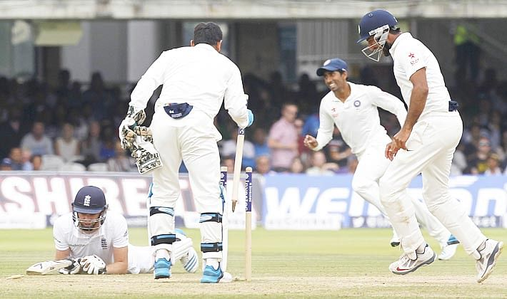 Fetters England at Lord's by 95 runs to take a 1-0 lead