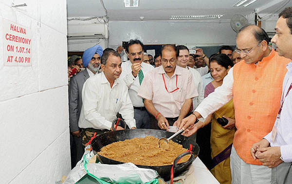 Halwa ceremony at Finance Ministry marks printing of Budget-2019 documents