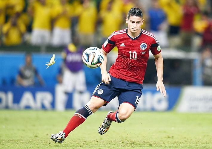 Golden Boot for Rodriguez