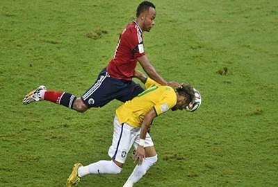 Zuniga escapes punishment over Neymar tackle