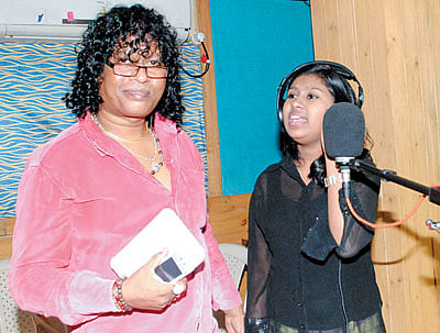 Sanchiti Sakat dubs an emotional song for kids film Dhund lenge Manzil Hum