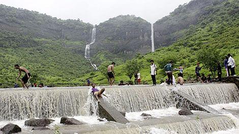 Navi Mumbai: Pandavkada waterfalls at Kharghar closes for visitors during monsoon