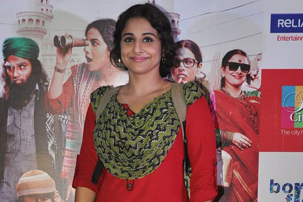 I am very selfish as an actor: Vidya Balan