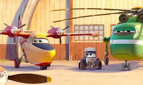 Planes – Fire and Rescue: A heroic toon