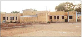 Hostel constructed for students not in use since a decade