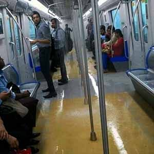 And the Metro starts leaking