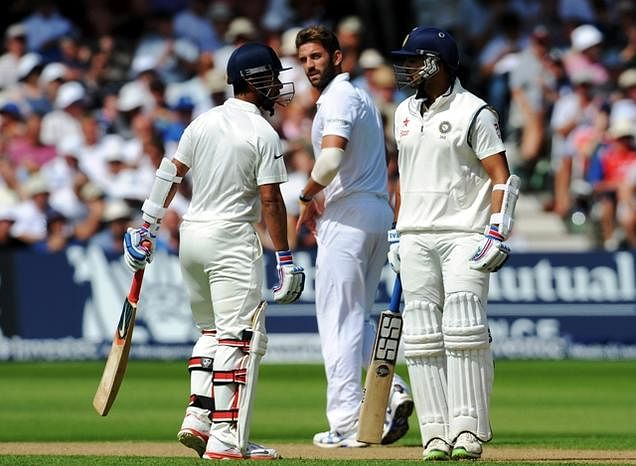 Classy Vijay help India repel England barrage