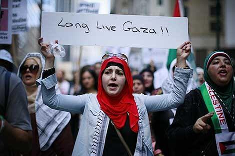 Palestinians accept 72-hr ceasefire offer