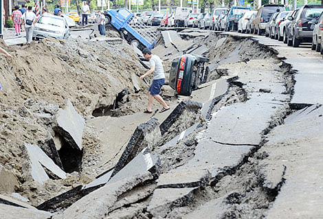 Gas explosions: It rained concrete in Taiwan city