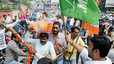 Jharkhand elections: BJP, Cong workers clash in Daltonganj