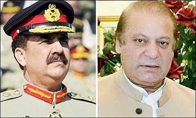 Sharif meets  Army Chief