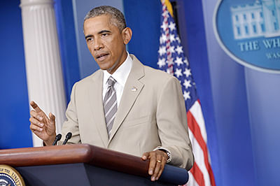 India will succeed as long it is not splintered on religious lines: Barack Obama
