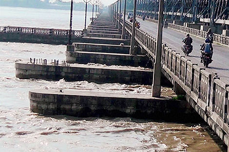 Flood alert lifted in  6 districts in Bihar