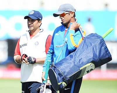 Sachin didn't face a single ball in nets in 2003 World Cup: Dravid
