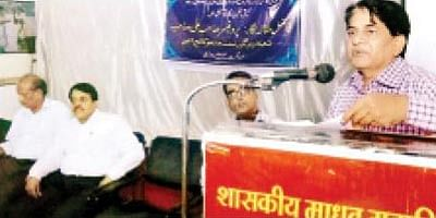 Ameeq Hanafi special lecture held at Madhav College