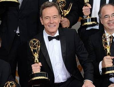 Bryan Cranston announced best actor at Emmy Awards