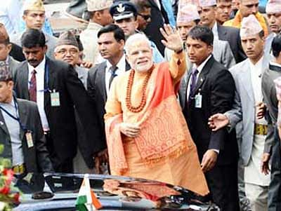 'Secular' din over PM temple prayer