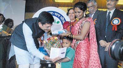 Piyush Goyal launches 'Pradhan Mantri Jan Dhan Yojana' in Mumbai
