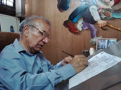 Pran Kumar Sharma , Chacha Cartoonist