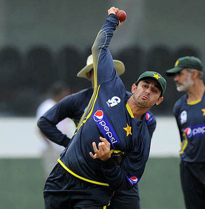 Galle Test: Saeed Ajmal reported for suspect action