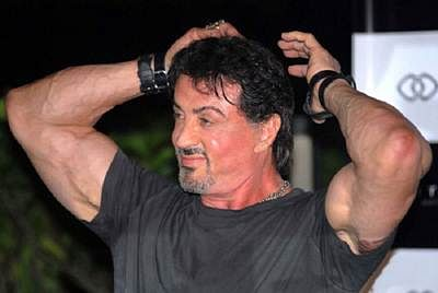 Sylvester Stallone thinks men are `too competitive` to `like` him