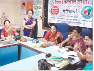 Symposium on breast feeding week held