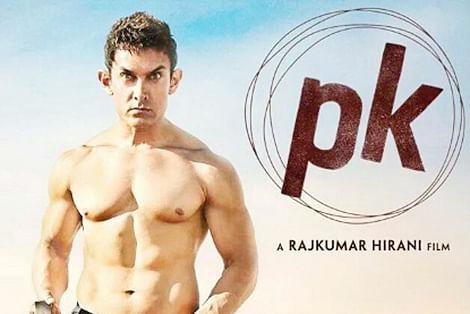 Aamir's PK poster stuns friends, fans