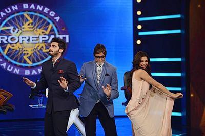 Big B's 'Bootiya' dance with Deepika, Arjun