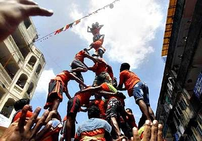 Dahi Handi may be declared 'adventure sport'